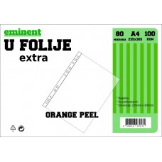 """Folija U Eminent EXTRA 80 mikrona """"orange peel"""" 1/100"""